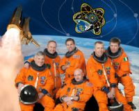 STS-134 Official NASA Crew Portrait